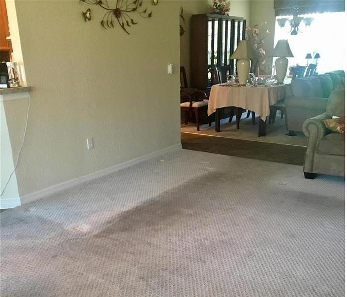Wantagh Water Damage and a Cleaning Before