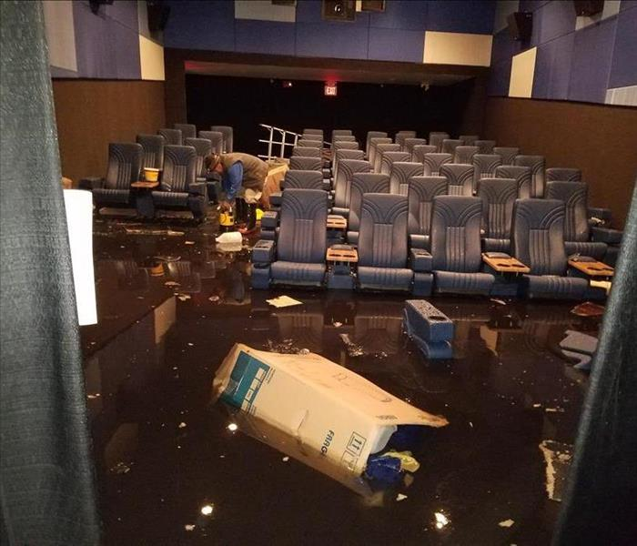 Movie Flooding Special Effects in Bellmore Before