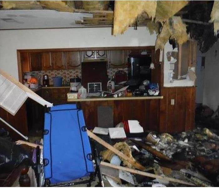 Fire Damage – Wantagh House Before