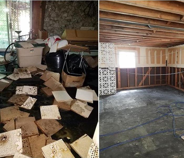 Water Damage Due to In-Home Flooding