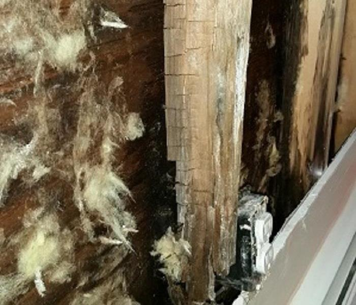 Water Damage Are your gutters properly installed?